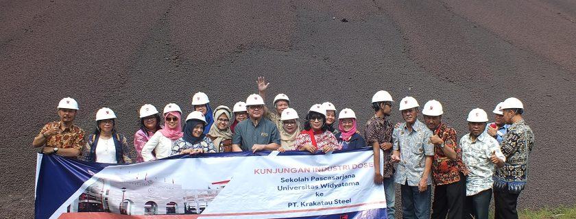 Kunjungan Industri Dosen SPS ke PT. Krakatau Steel