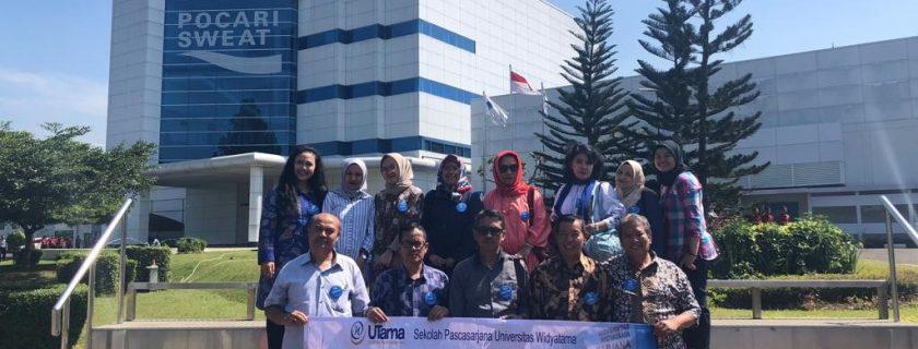 Kunjungan Industri Dosen PT Pocari Sweat
