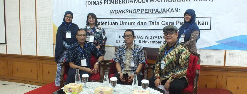 Workshop Perpajakan (Pengabdian kepada Masyarakat)